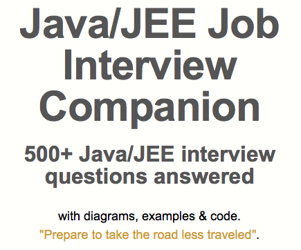 PDF JAVA ANSWERS QUESTIONS INTERVIEW AND MULTITHREADING
