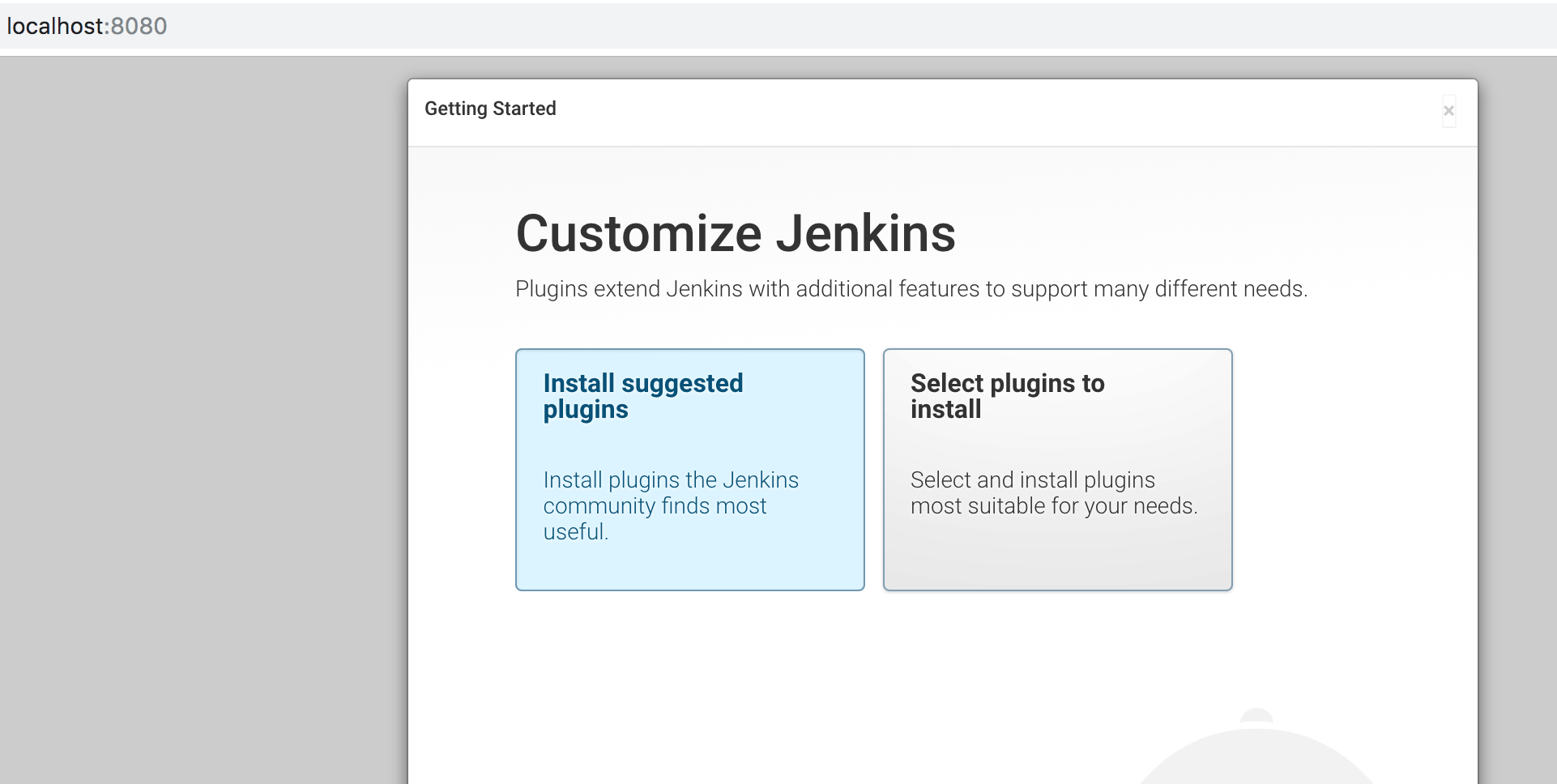 Jenkins Install suggested packages